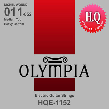 Olympia Nickel Wound Medium Top Heavy Bottom HQE1152 (11-52) 0