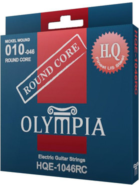 Olympia Nickel Wound Round Core HQE1046RC (10-46) 0