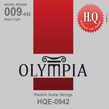 Olympia Nickel Wound Super Light HQE0942 (9-42) 0