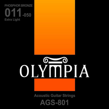 Olympia Phosphor Bronze Extra Light AGS801 (11-50) 0