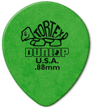 Dunlop 413R.88 Tortex Tear Drop 72 Pack 0