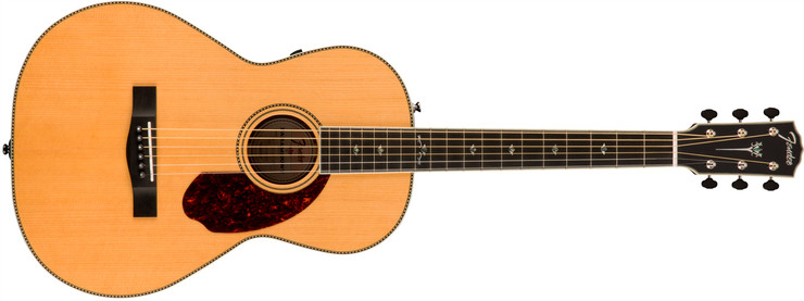 Fender PM-2 Deluxe Parlor Natural 0