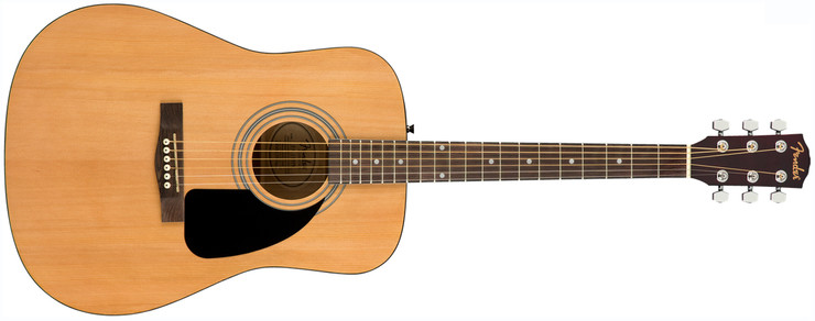 Fender FA-115 Dreadnought Pack Natural 0