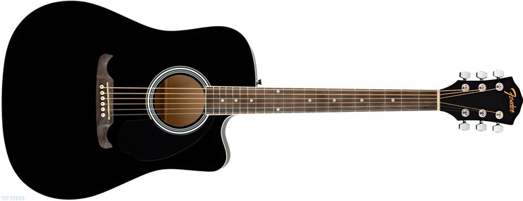Fender FA-125CE Black 0