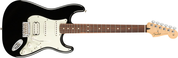 Fender Player Stratocaster HSS Pau Ferro Black 0