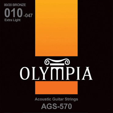 Olympia 80/20 Bronze Extra Light AGS570 (10-47) 0