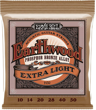 Ernie Ball 2150 Earthwood Phosphor Bronze Extra Light (10-50) 0