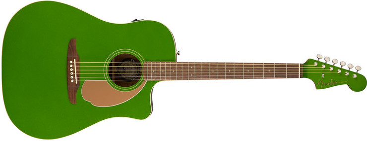 Fender Redondo Player Electric Jade 0