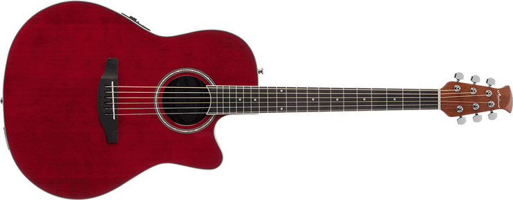 Ovation Applause AB24II-RR Standard Mid Depth Ruby Red 0