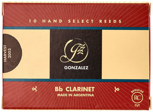 Gonzalez Reeds Bb-Clarinet Regular Cut 3 (10 Pack) 0