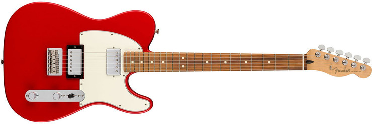 Fender Player Telecaster HH Pau Ferro Sonic Red 0