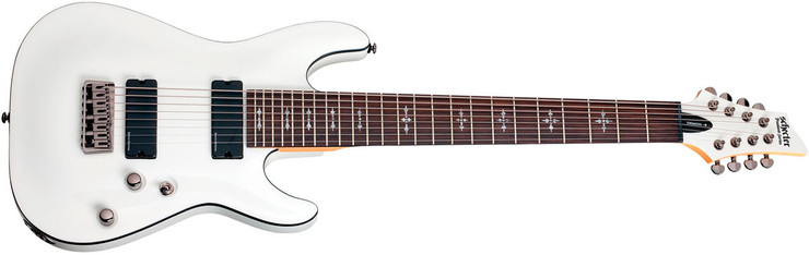 Schecter Demon 8 VWHT 0