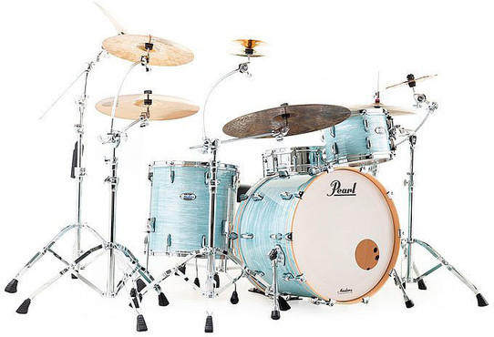 Pearl Masters Maple MCT923XSP/C414 Ice Blue Oyster 0