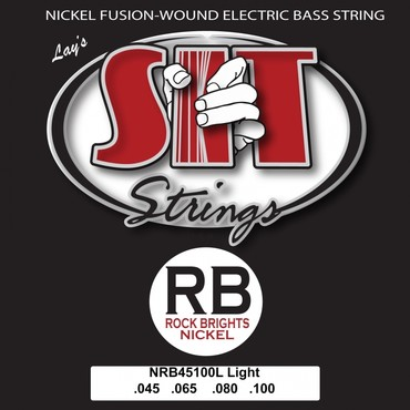 SIT Bass Rock Brights Nickel Light RB45100L (45-100) 0