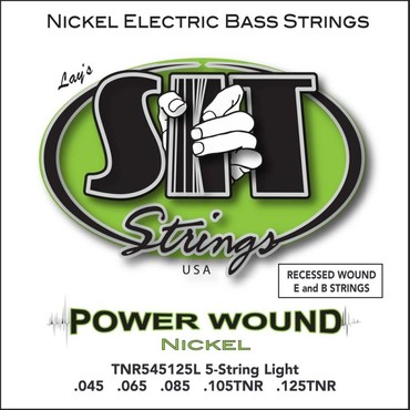 SIT Bass Power Wound 5 String Tapered TNR545125L (45-125) 0