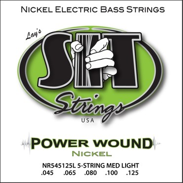 SIT Bass Power Wound 5 String NR545125L (45-125) 0