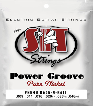 SIT Power Groove Pure Nickel Rock-N-Roll PN946 (9-46) 0