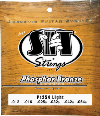 SIT Phosphor Bronze Light P1254 (12-54) 0