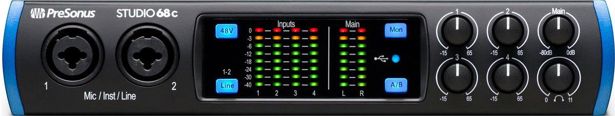 Купить Presonus Studio 68C USB звуковую карту: цена в магазине KOMBIK - Купить