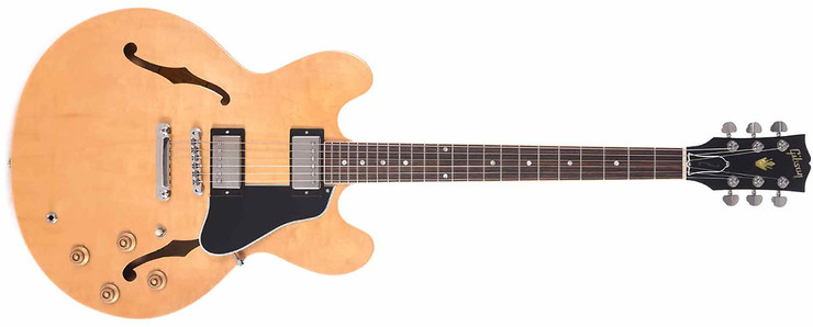 Gibson 2019 ES-335 Dot Dark Natural 0