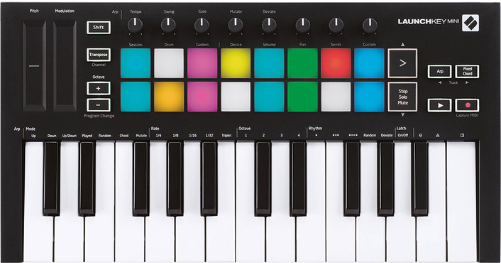 Novation LaunchKey Mini MK3 0