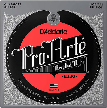 D'Addario Classics Rectified Trebles, Normal Tension EJ30 0