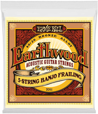 Ernie Ball 2061 Earthwood 80/20 Bronze Frailing 0