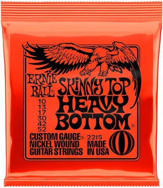 Ernie Ball 2215 Nickel Wound Skinny Top Heavy Bottom (10-52) 0