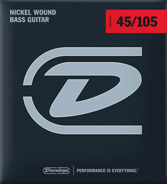 Dunlop DBN45105 Nickel Wound Medium (45-105) 0